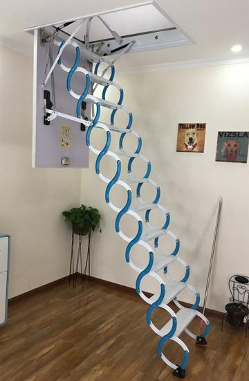 复式伸缩楼梯