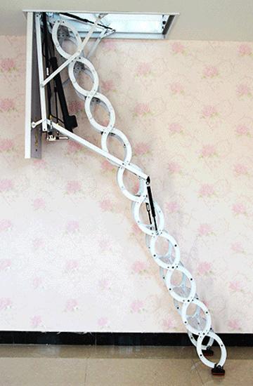 折叠式电动伸缩梯