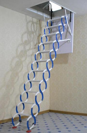 家用阁楼可伸缩楼梯