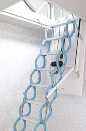 家用隐形伸缩楼梯