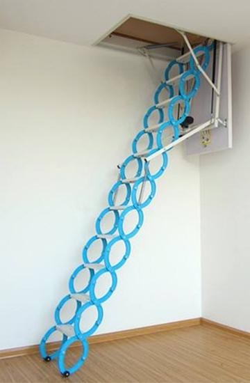 小户型电动伸拉梯怎么样?看伸缩楼梯厂家咋说