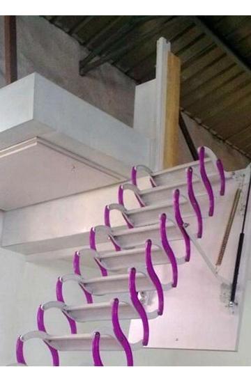 阁楼伸缩楼梯的作用都有哪些?厂家带您了解